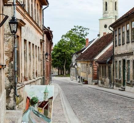 Kuldīga- Kurzemes – Zemgales hercogistes atspoguļotāja